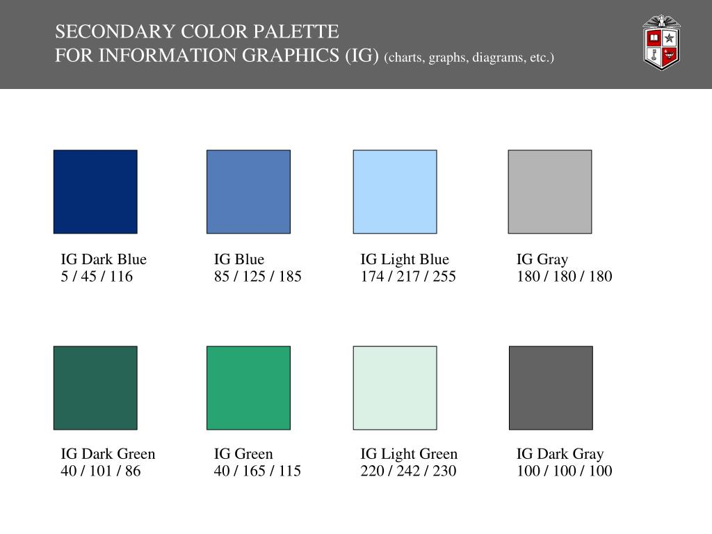 SECONDARY COLOR PALETTE