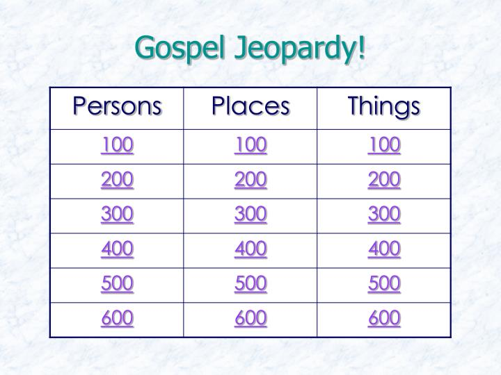 Gospel jeopardy2