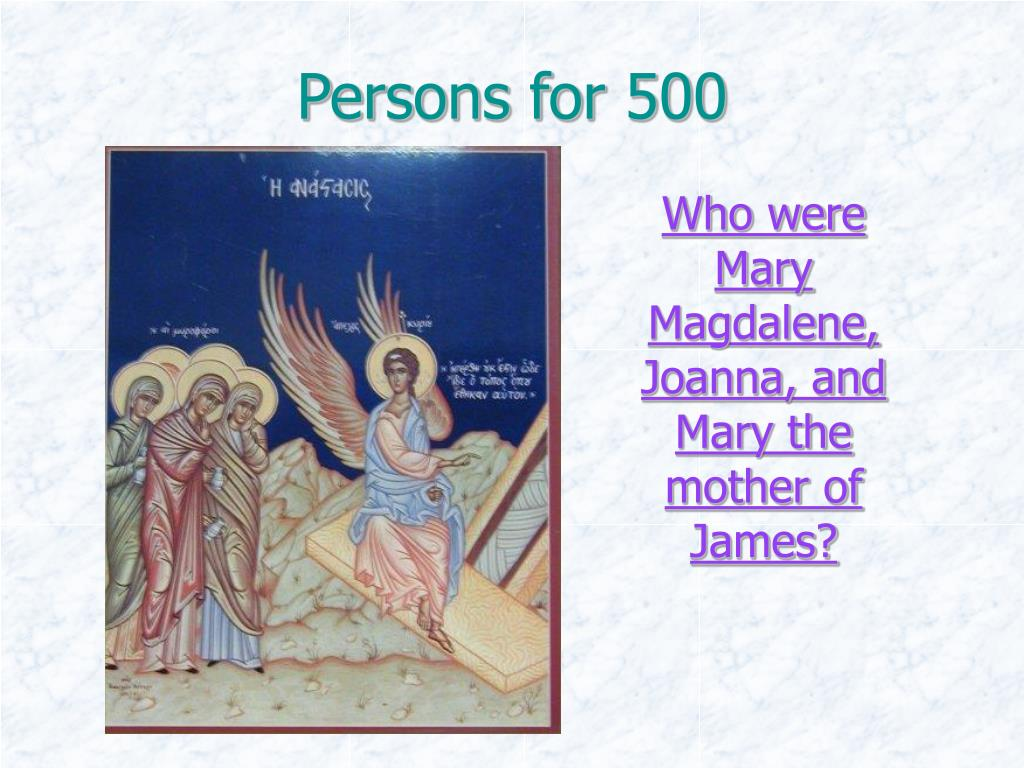 Persons for 500