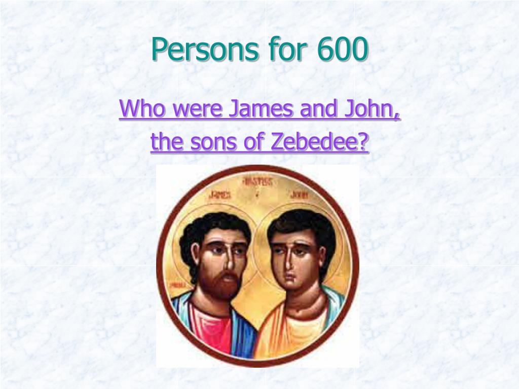 Persons for 600