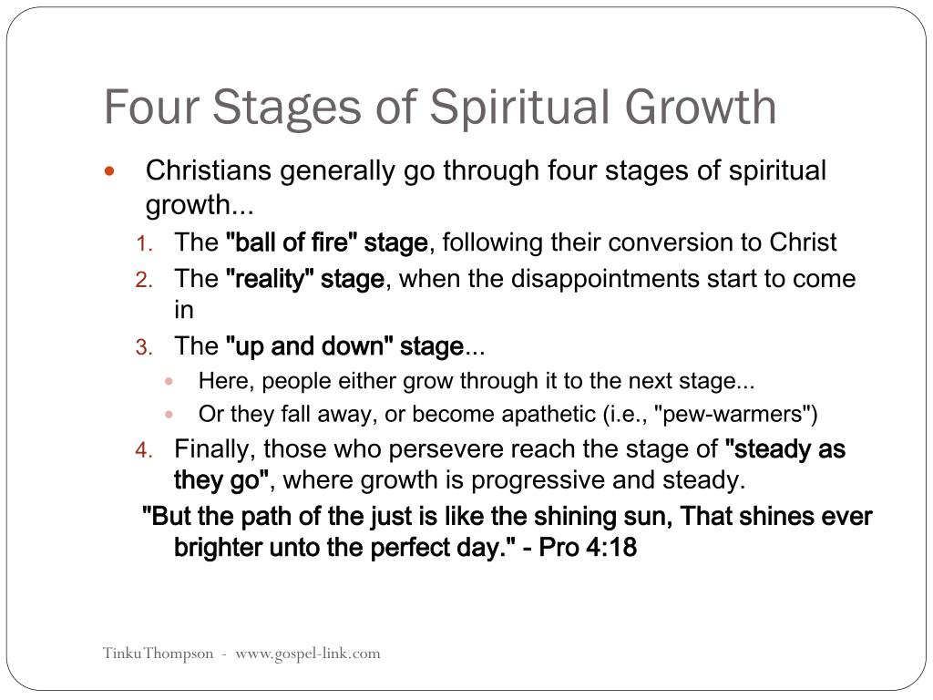 Phases of christian dating