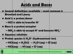 acids and bases14
