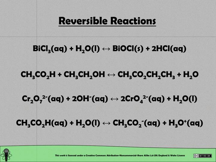 Reversible reactions l.jpg