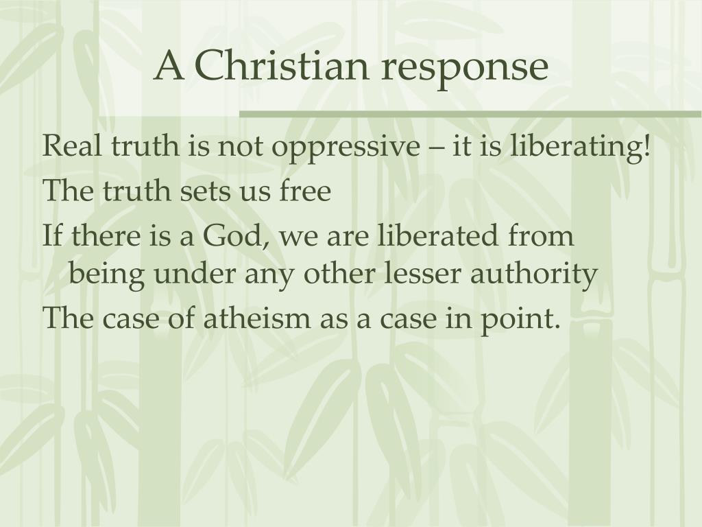 A Christian response