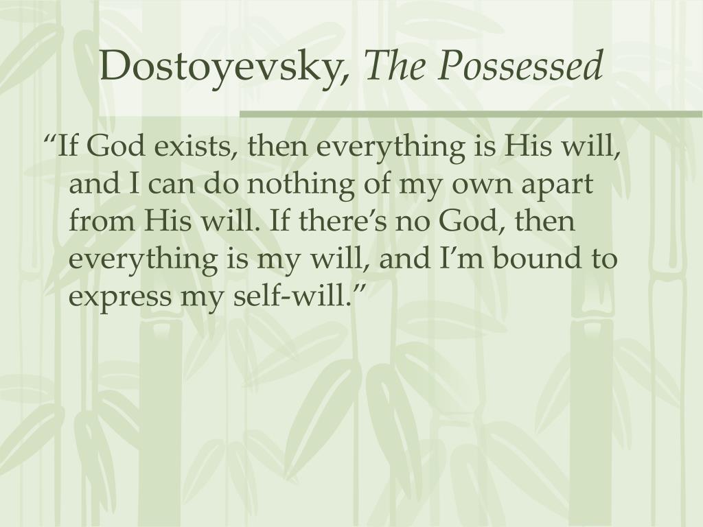 Dostoyevsky,