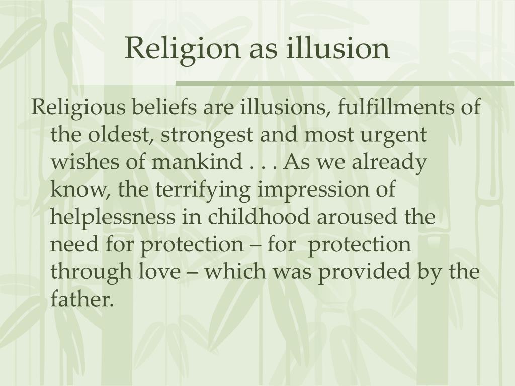 Religion as illusion