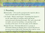 remembering our purpose6