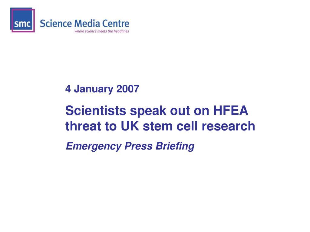4 January 2007