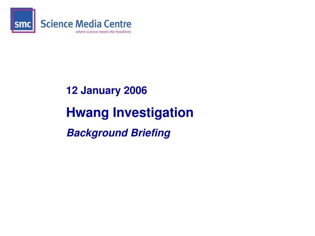 12 January 2006