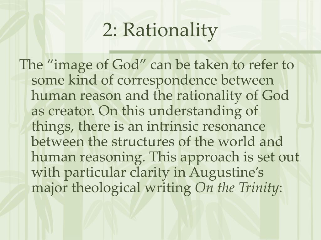 2: Rationality