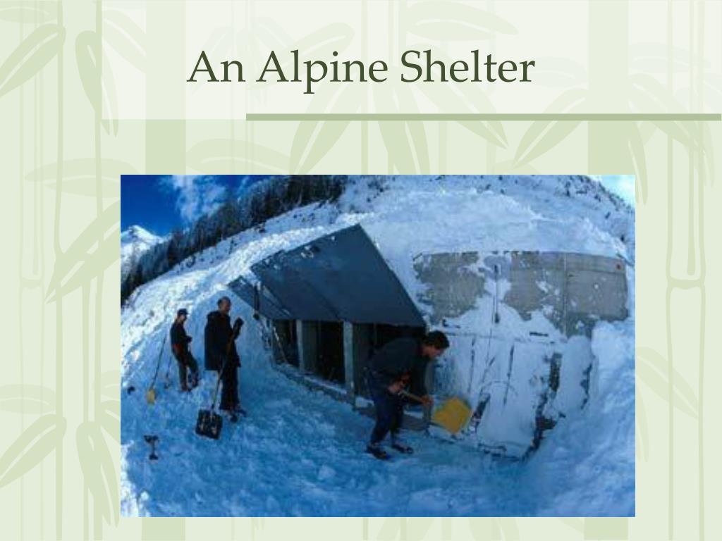 An Alpine Shelter