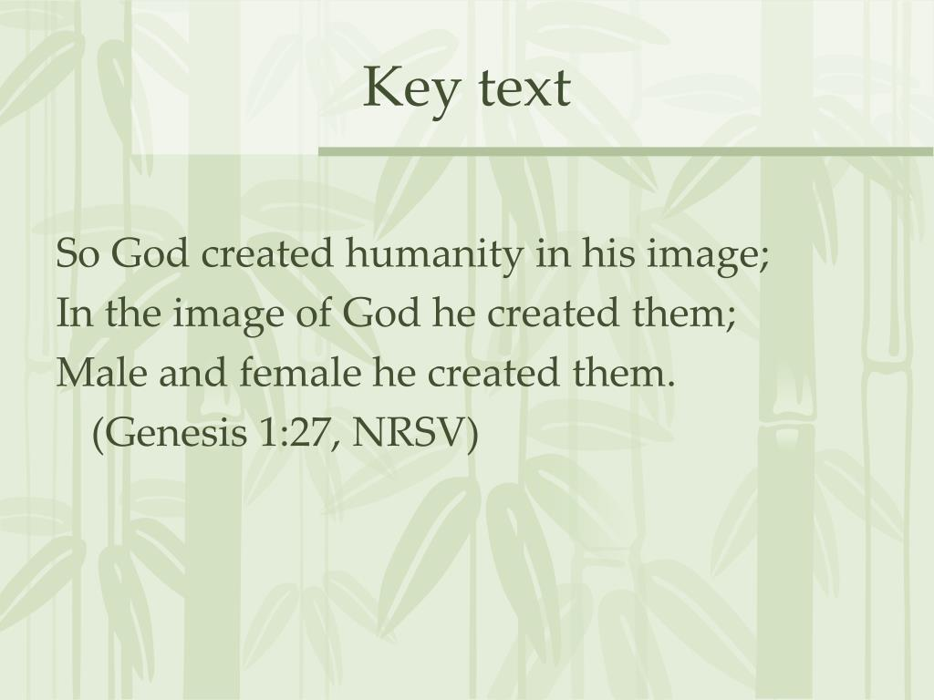 Key text