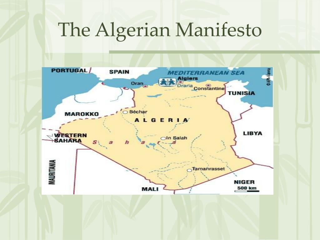 The Algerian Manifesto