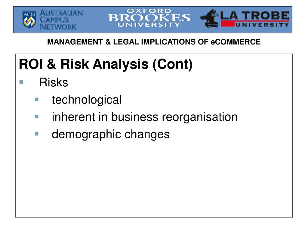 ROI & Risk Analysis (Cont)