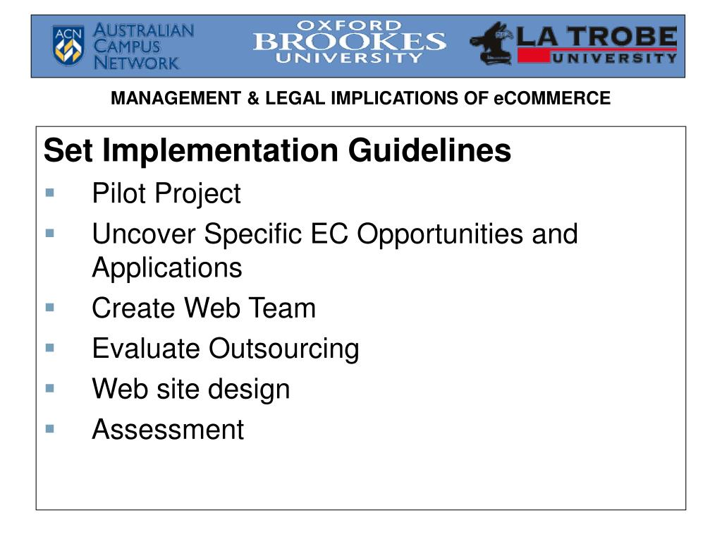 Set Implementation Guidelines