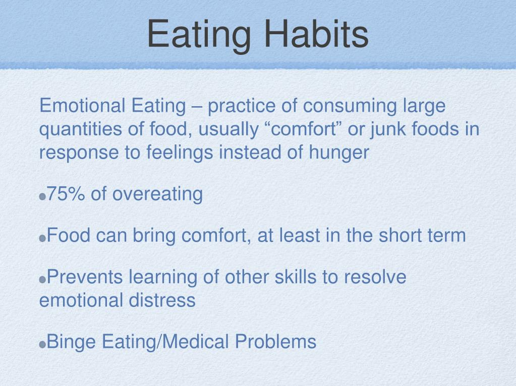 Eating Habits