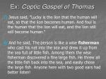 ex coptic gospel of thomas46