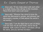ex coptic gospel of thomas48