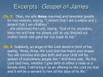 excerpts gospel of james22