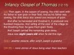 infancy gospel of thomas 12 15