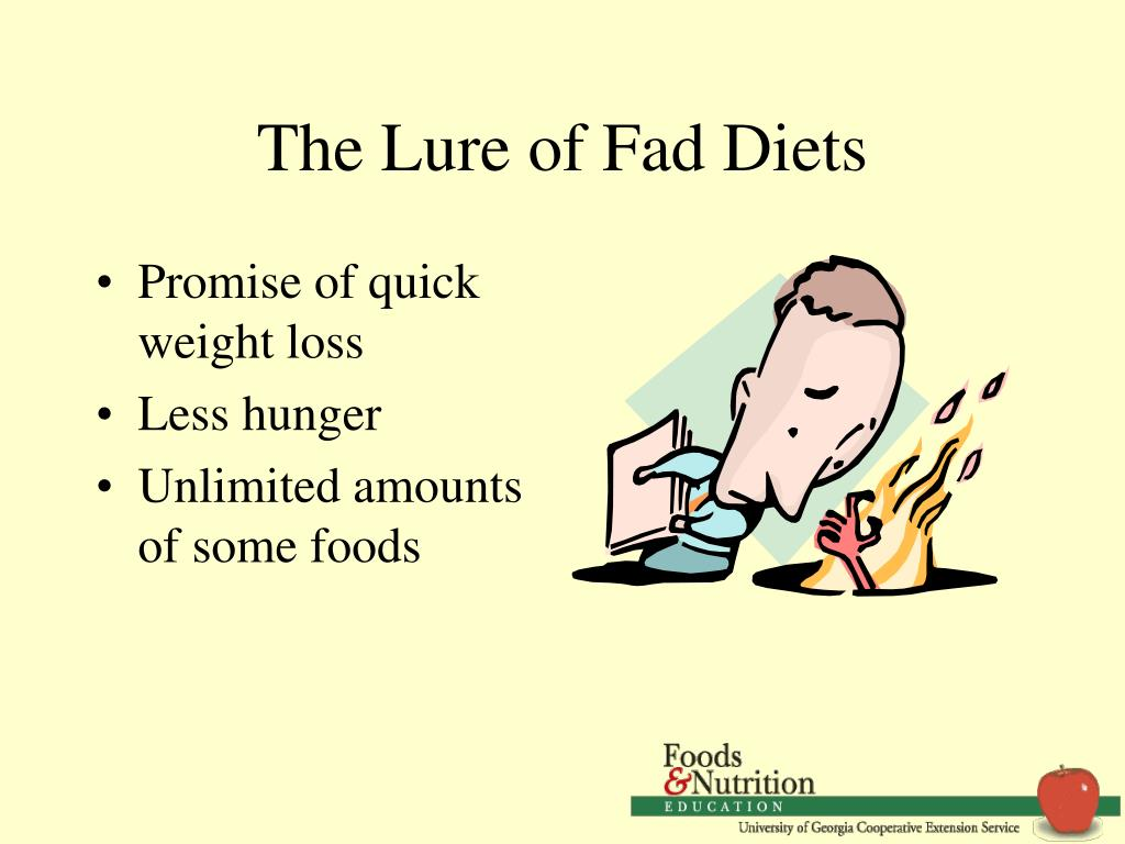 The Lure of Fad Diets