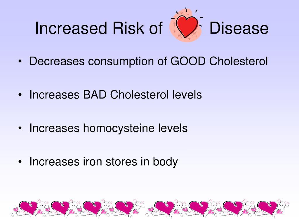 Increased Risk of          Disease