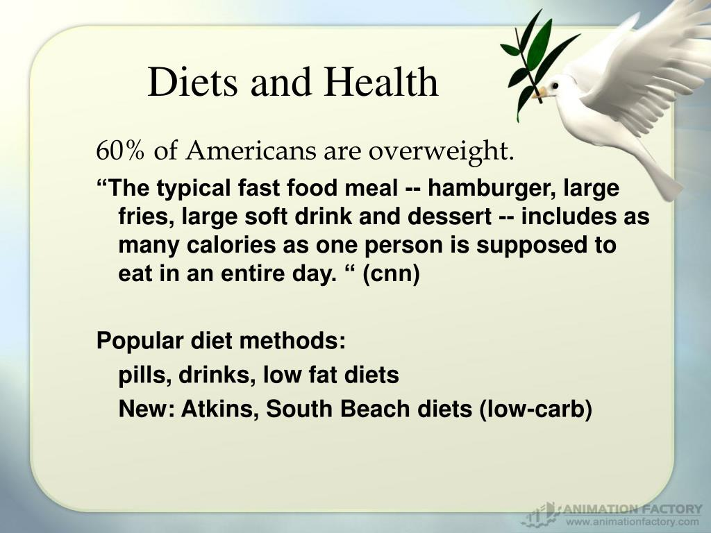 Diets and Health