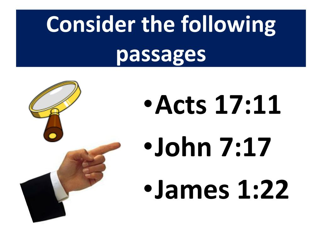 Consider the following passages