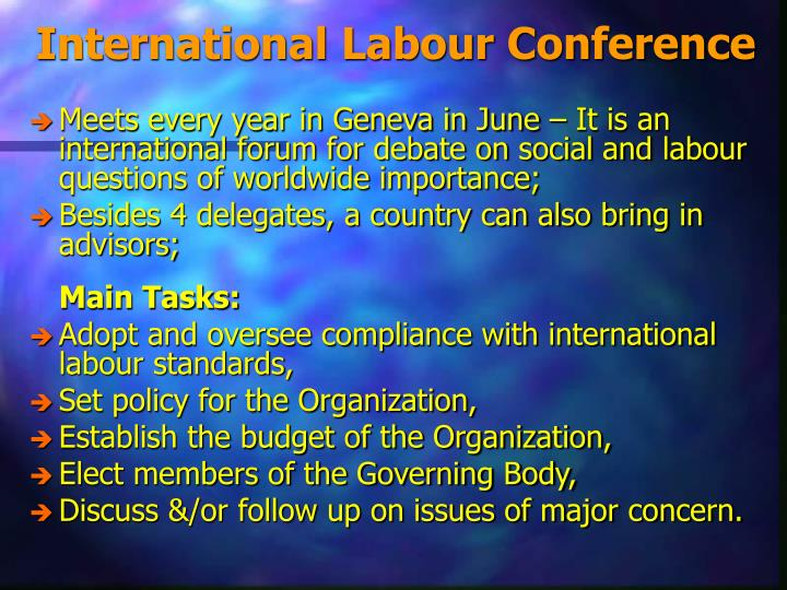 International Labour Conference