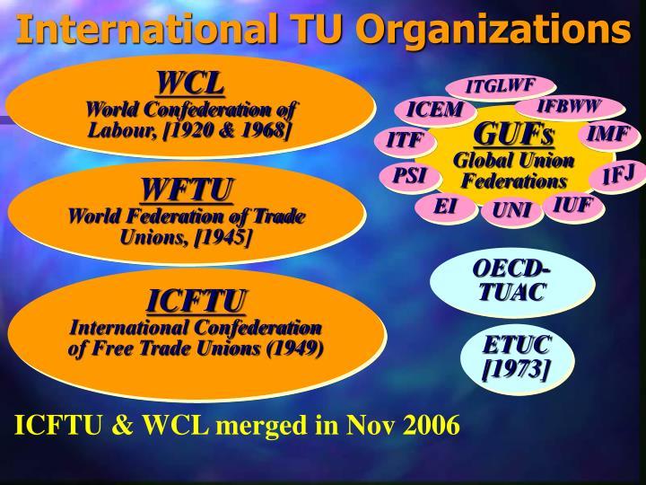 International TU Organizations