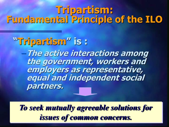 Tripartism: