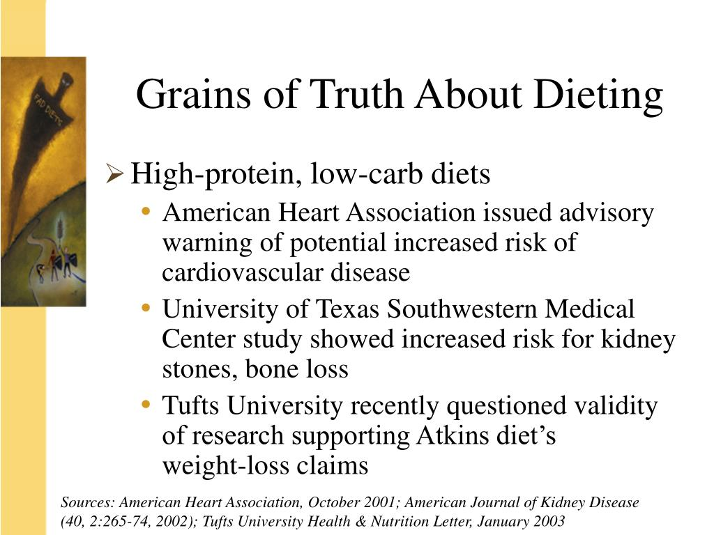 Grains of Truth About Dieting