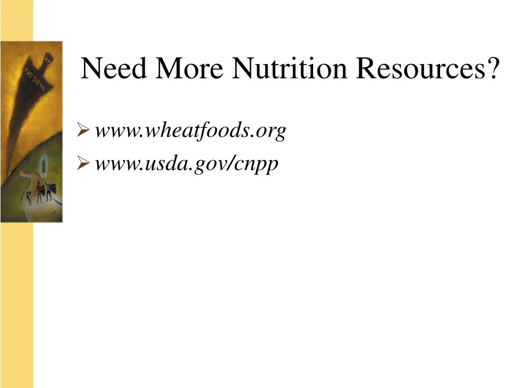 Need More Nutrition Resources?