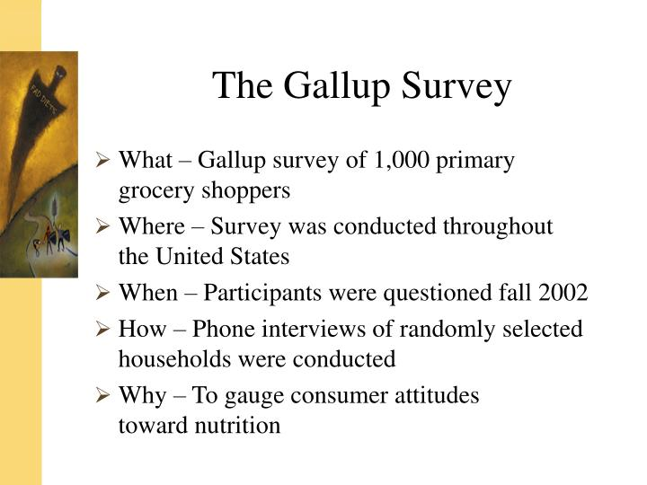 The gallup survey