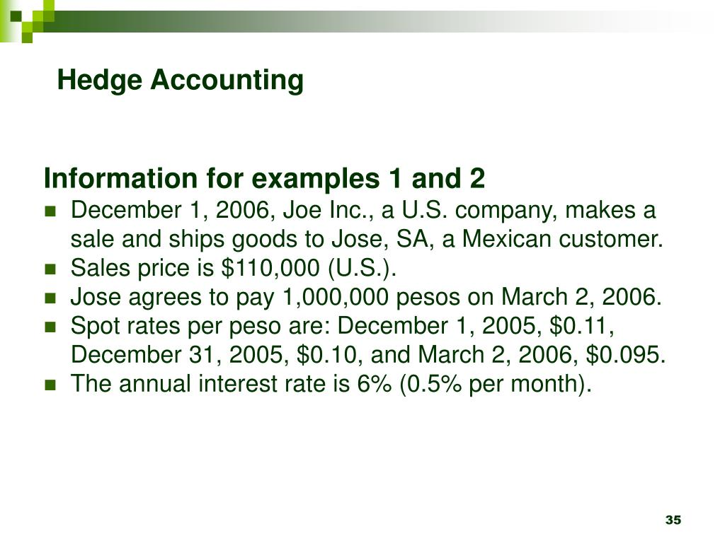 Hedge Accounting