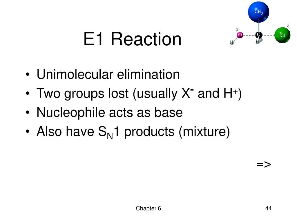 E1 Reaction