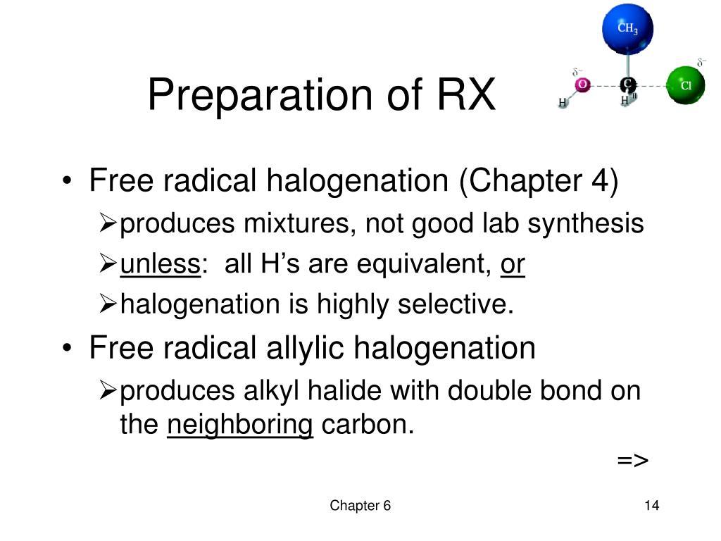 Preparation of RX