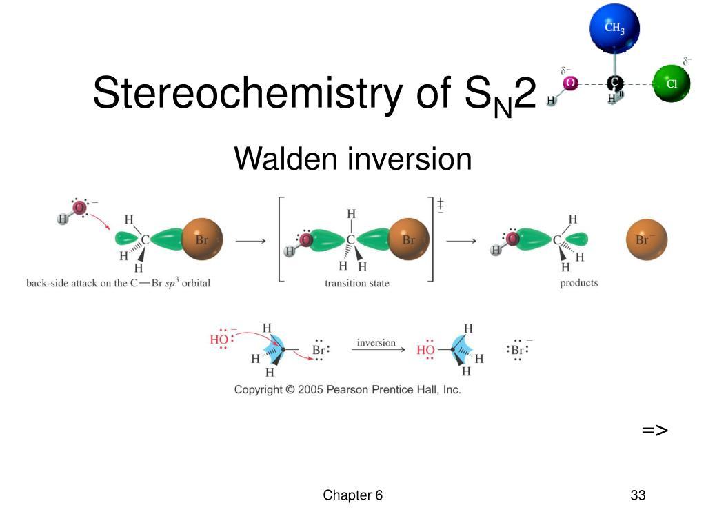 Stereochemistry of S