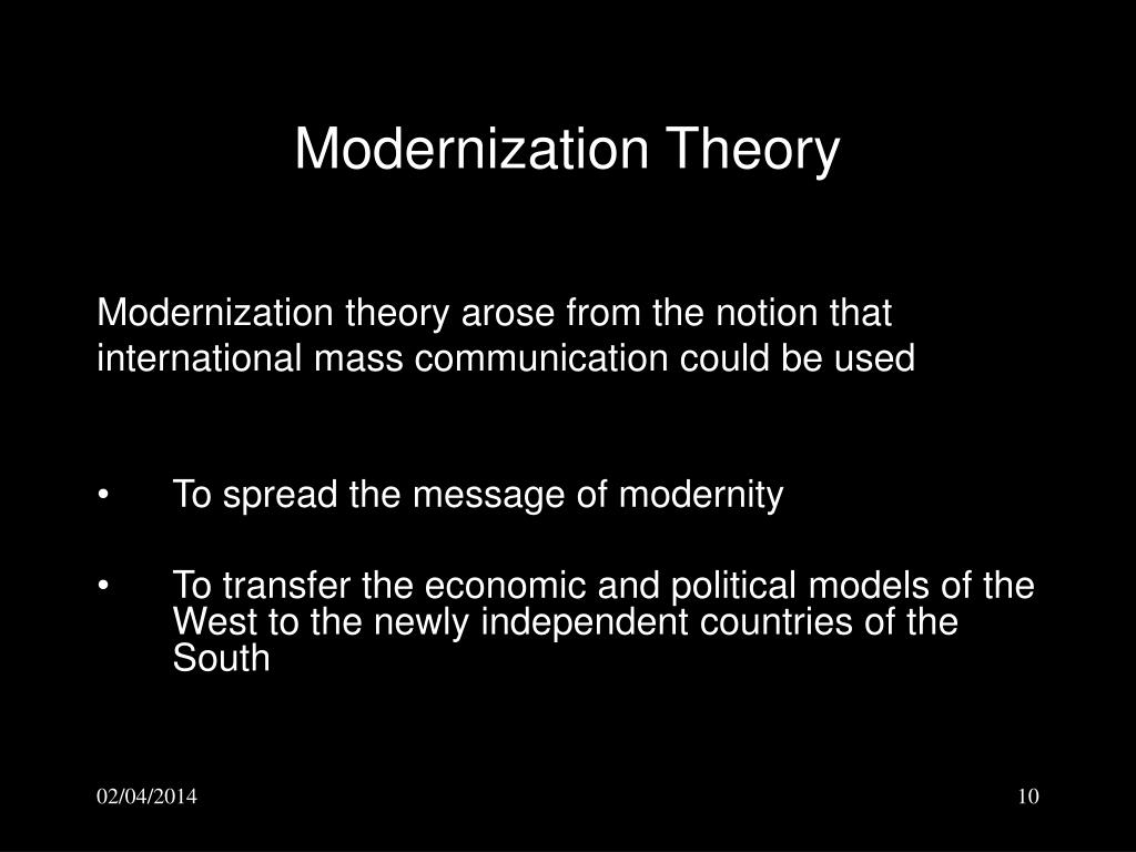 an analysis of the concept behind the modernization and dependency theories Dependency theory and chinese special economic zones in africa 93  the  proponents of modernization theory claimed that underdeveloped countries were   countries, beyond simple analysis of global value chains.