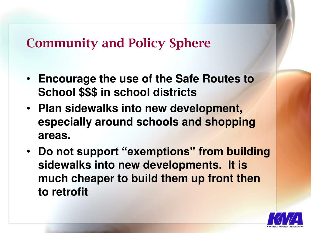 Community and Policy Sphere