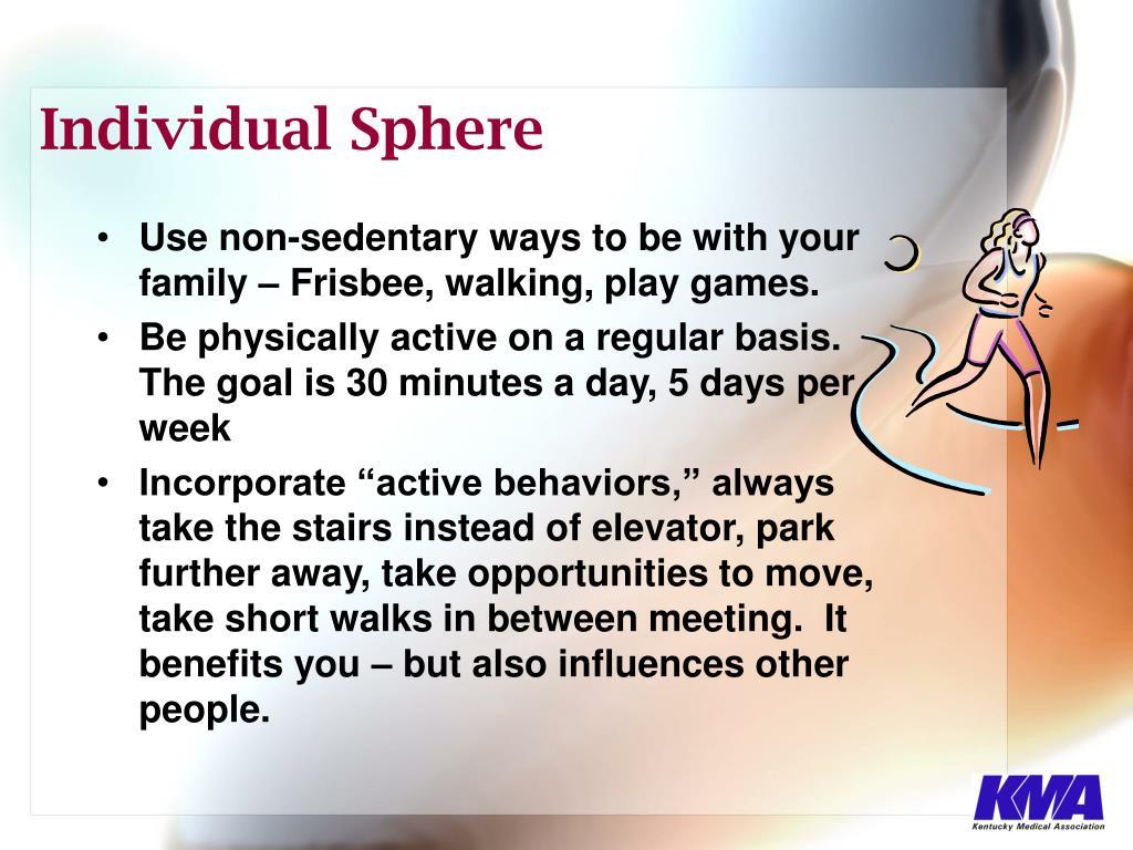 Individual Sphere