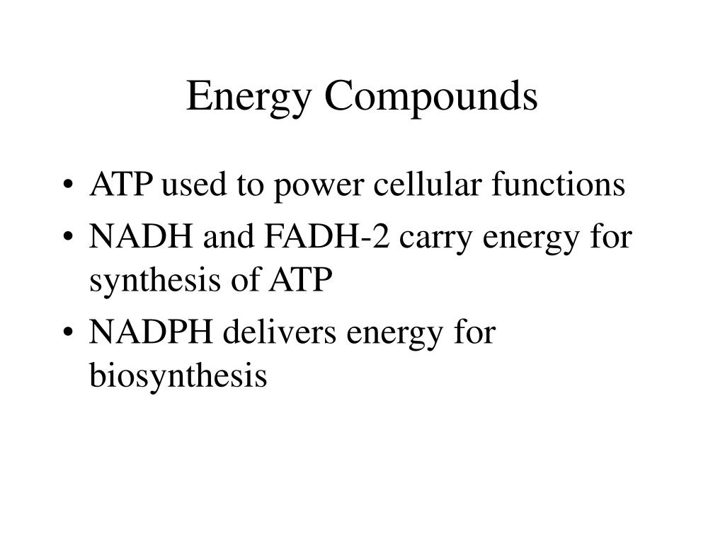 Energy Compounds