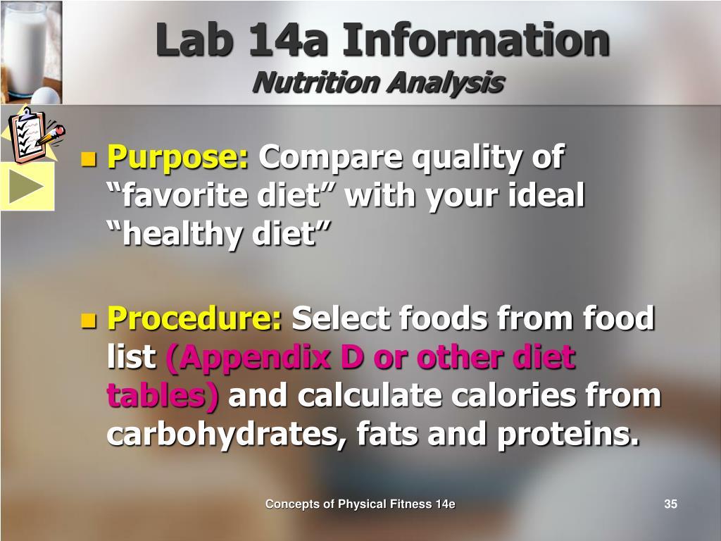 Lab 14a Information