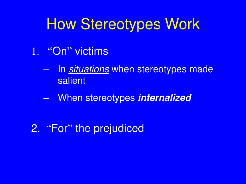 stereotype and prejudice free workplace essay Age discrimination in the workplace by sally  a stereotype of older workers as  the most dispensable in the workforce various  prejudices or stereotypes.