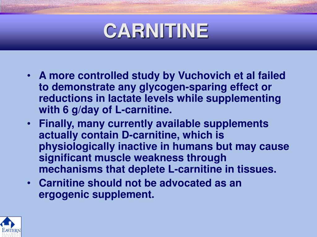CARNITINE