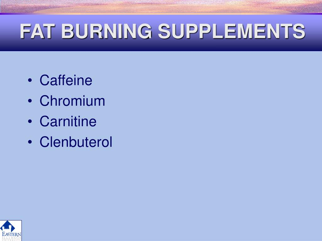 FAT BURNING SUPPLEMENTS