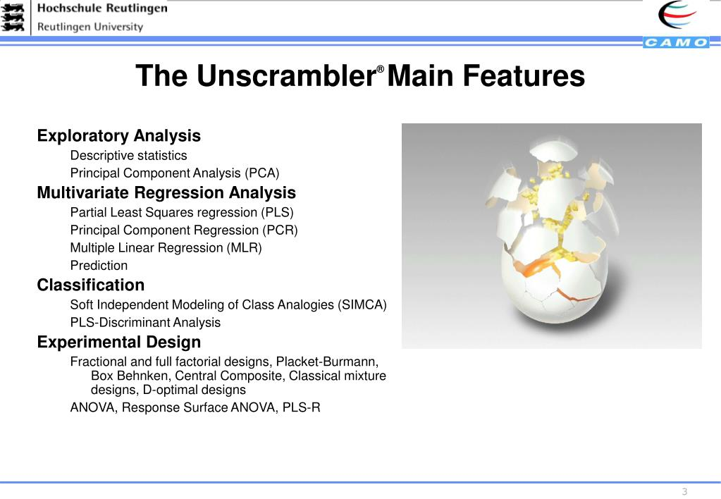 The Unscrambler