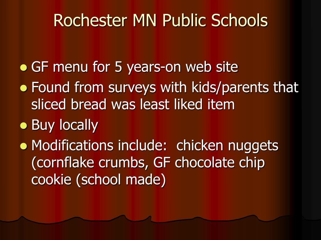 Rochester MN Public Schools