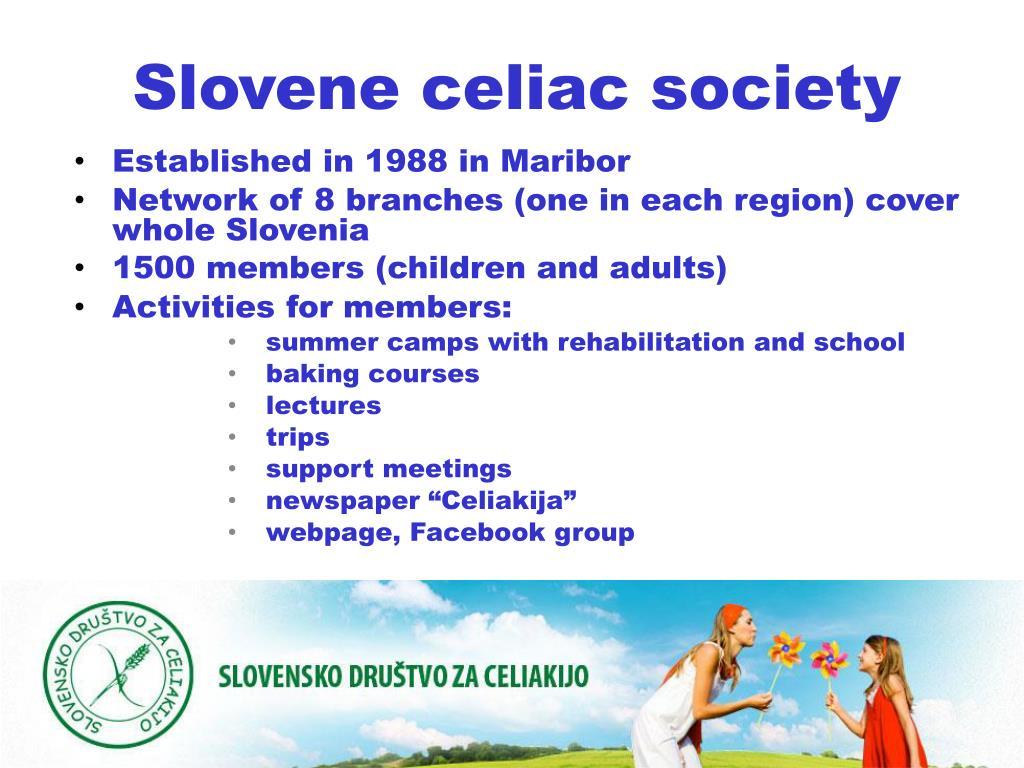 Slovene celiac society