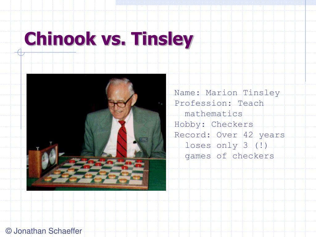Chinook vs. Tinsley